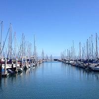 Photo taken at Santa Barbara Harbor by Anna P. on 3/30/2013