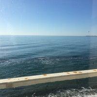 Photo taken at Пляж Айтар | აიტარის პლიაჟი by Anna P. on 1/7/2017
