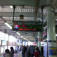 Photo taken at Tokyu Kikuna Station by takashi u. on 4/13/2013