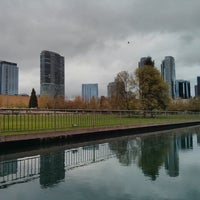 Photo taken at Bellevue Downtown Park by Samson N. on 4/21/2013