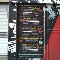 Photo taken at XPLOSIVE Food Truck by Samson on 3/8/2013