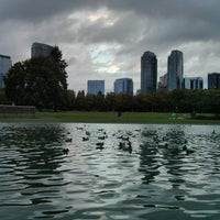 Photo taken at Bellevue Downtown Park by Samson N. on 9/29/2013