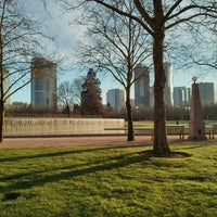 Photo taken at Bellevue Downtown Park by Samson on 3/24/2013