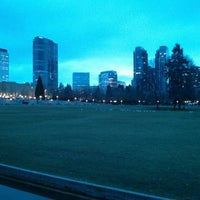 Photo taken at Bellevue Downtown Park by Samson on 2/18/2013