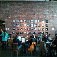 Photo taken at Zeitgeist Kunst & Kaffee by Samson N. on 2/25/2013