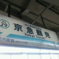 Photo taken at Keikyū Tsurumi Station (KK29) by jiro on 9/29/2012