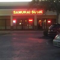 Photo taken at Samurai Sushi by barbee on 5/8/2015