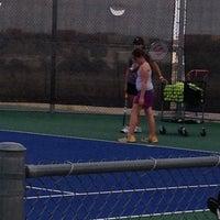 Photo taken at NMSU Tennis Center by Michele G. on 4/22/2014