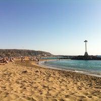 Photo taken at Las Vistas Beach by Danila M. on 12/29/2012