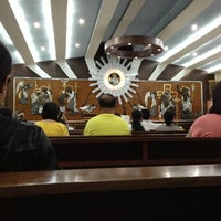 Photo taken at St. Francis of Assisi Parish Church by Jason A. on 11/1/2012