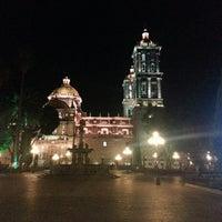 Photo taken at Los Portales de Puebla by Luis Enrique S. on 7/27/2013