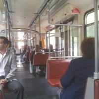 Foto tomada en Parador Belgrano [Metrotranvía] por Roberto W. el 4/11/2013