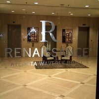 Photo taken at Renaissance Atlanta Waverly Hotel & Convention Center by Bryan R. on 4/11/2013