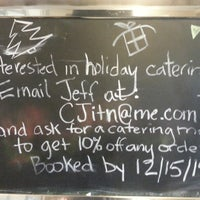 Photo taken at In the Neighborhood Deli by Michael C. on 12/6/2014