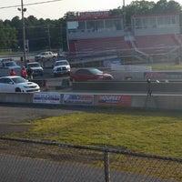 Photo taken at Atco Raceway by Julie M. on 7/22/2014