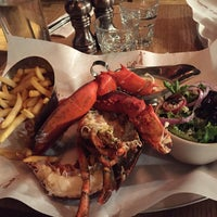 Photo taken at Burger & Lobster by Constance R. on 8/15/2015