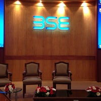 Photo taken at Bombay Stock Exchange (BSE) by George K. on 2/25/2013