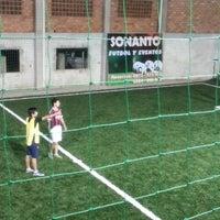 Photo taken at Sonanto Fútbol y Eventos 0973575543 - 0984208508 by Andres R. on 6/22/2014