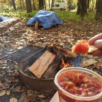 Photo taken at Mills-Norrie State Park Campground by Eden D. on 10/20/2012