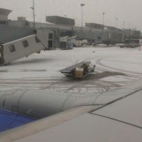 Photo taken at Buffalo Niagara International Airport (BUF) by Keith F. on 1/23/2013