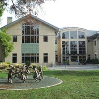 Photo taken at Santa Clara City Library by Dmytro on 11/18/2012