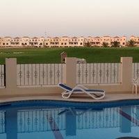 Photo taken at Al Hamra Village by Saeed on 2/22/2013