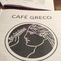 Photo taken at Café Greco by Fernando d. on 7/10/2013