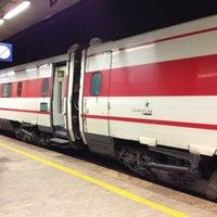 Photo taken at Stazione Reggio Calabria Centrale by Salvatore B. on 10/9/2012