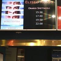 Photo taken at Cinema Eliseo by Gianni C. on 3/8/2017
