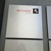Photo taken at Serviceplan by Sarah K. on 10/9/2012