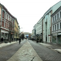 Photo taken at Lannova Třída by Oksana N. on 1/12/2017