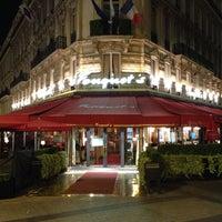 Photo taken at Le Fouquet's by Antonello D. on 7/17/2013