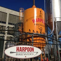 Photo taken at Harpoon Brewery by Danielle P. on 10/13/2012