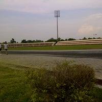 Photo taken at Stadium Sungai Besar by Dauz J. on 1/15/2013