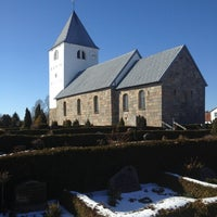 Photo taken at Vivild Kirke by Özge on 3/23/2013