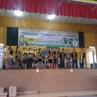 Photo taken at Dewan Serbaguna Mositun by Ann Shirley Gunsoi N. on 5/1/2014