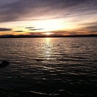 Photo taken at Crique Secrete by Sarah J. on 12/22/2012