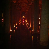 Photo taken at Basilica Cistern by Maria N. on 11/4/2012
