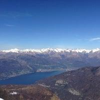Photo taken at Alpe Giumello by Luca S. on 4/14/2013