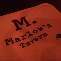 Photo taken at Marlow's Tavern by km q. on 11/16/2012