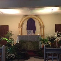Photo taken at Our Lady Of Fatima Parish by Jiliane Marie T. on 3/24/2016