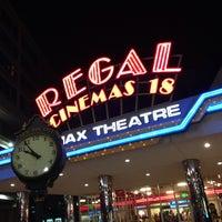 Снимок сделан в Regal Cinemas New Roc 18 IMAX & RPX пользователем Fernando E. 6/10/2013
