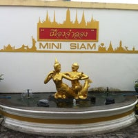 Photo taken at Mini Siam by Vladimir Z. on 11/20/2012