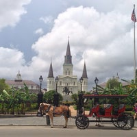 Photo taken at Jackson Square by Alison C. on 5/1/2013
