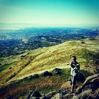 Photo taken at Mission Peak (top) by Markjay A. on 11/24/2012