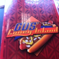 Photo taken at Gus' Coney Island by Dan S. on 10/1/2014