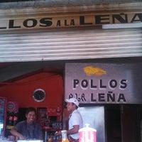 Photo taken at pollos a la leña by isai b. on 8/27/2013