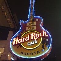 Photo taken at Hard Rock Cafe Bogota by Juan David H. on 10/14/2012
