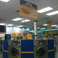 Photo taken at Family Super Laundromat by Miranda H. on 11/5/2012