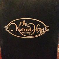 Photo taken at National Hotel Restaurant by Linda E. on 7/14/2014